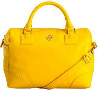 I think I need a bright yellow bag. So bright and luxe.