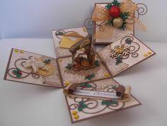 idea for christmas explosion box