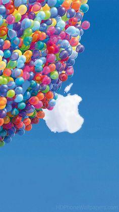 Up Apple Logo iPhone 5 Wallpaper (640x1136)