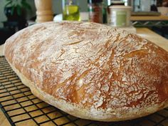 Food Wishes Video Recipes: No-Knead Ciabatta - Bread You Can Believe In (with video)