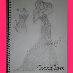 1st design #iamgheesketchandstyle