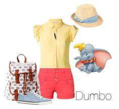"""""""Disney Inspired Outfits: Dumbo"""" by morganautical ❤ liked on Polyvore featuring Disney, RED Valentino, Scoop, even&odd, Ann Demeulemeester, ALDO, disney, disneybound, DisneyWorld and Dumbo"""