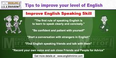 Tips for success in achieving proficiency and fluency in English Speaking: Improve English Speaking, Speak Fluent English, Learn English For Free, Improve Your English, Verbal Communication Skills, Improve Yourself, Success, Learning, Tips
