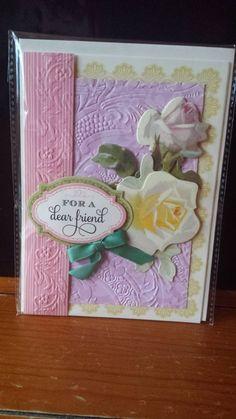 Luxury Hand Crafted Anna Griffin Friend Card