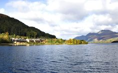 Lodge on Loch Lomond Hotel.  Yes - our room did overlook Loch Lomond