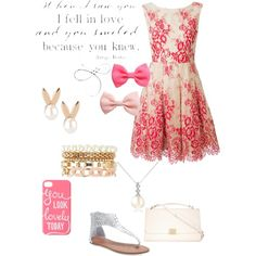 A fashion look from February 2015 featuring Alice + Olivia dresses, Wet Seal sandals and Forzieri necklaces. Browse and shop related looks.