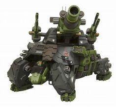 HMM Zoids 1/72 Rmz-27 Cannon Tortoise
