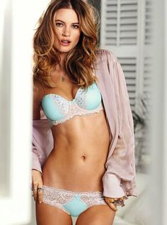 #BehatiPrinsloo for Victoria's Secret Lingerie January 2014 Lookbook | #FashionOne