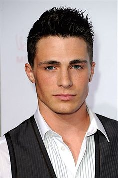 Colton Haynes make him a dirty blonde and we have ourselves a Christian Grey people!!!