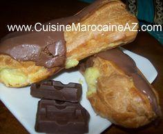 Éclairs au chocolat إكلير بالشوكولاتة