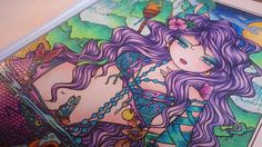 How to color a Mermaid - Hannah Lynn - Mermaids, Fairies & other Girls o...