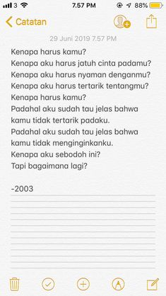 Quotes And Notes, Text Quotes, Jokes Quotes, Mood Quotes, Life Quotes, Qoutes, Quotes Lucu, Cinta Quotes, Quotes Galau