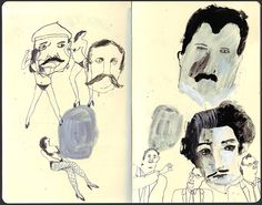 reportager:: projects || Ink Illustration: The Wondering line - Chloé Regan