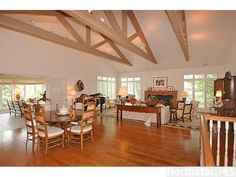 Incredible vaulted ceilings in this Edina, MN home!