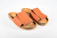 Korkáče Terakota / PART - SAShE.sk Summer Essentials, My Wardrobe, My Outfit, Designer Shoes, Modeling, Slip On, Sandals, Womens Fashion, Shoes Sandals