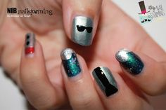 NIB : Nailstorming Interstellaire by diamant sur l'ongle