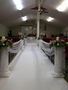 Church Wedding Decor - KDQ