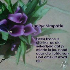 Sympathy Card Messages, Condolence Messages, Sympathy Quotes, Condolences, Birthday Wishes For Myself, Birthday Wishes Quotes, Afrikaanse Quotes, Special Words, Quote Of The Day