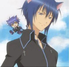 Ikuto avec ses oreilles de chat est trop beau !!