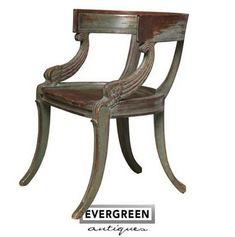 Pilate's chair (Klismos chair)