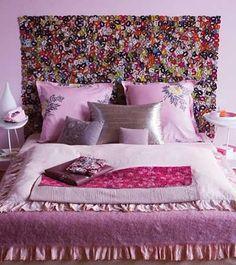Las 100 mejores fotos e ideas para hacer un cabecero de cama original. (II)