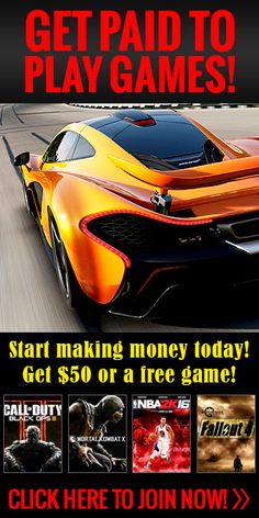 It is possible to earn money playing video games. You can get paid to be a video game tester. We'll get you in front of the companies that are hiring for a video game testing career. Make Money Fast, Make Money Blogging, Make Money From Home, Make Money Online, Money Tips, Test Games, Games To Play, Playing Games, Pc Games