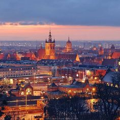 GM from Gdansk! Poland sunrise city view (scheduled via http://www.tailwindapp.com?utm_source=pinterest&utm_medium=twpin&utm_content=post139370797&utm_campaign=scheduler_attribution)
