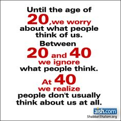 Jewish Quote of the Day: Until The Age Of 20