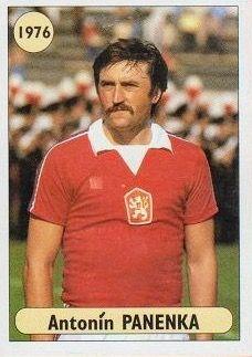 Antonin Panenka of Czechoslovakia in 1976.