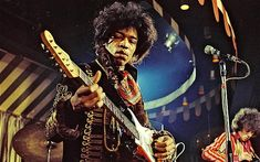 Jimi Hendrix - Can hear that guitar just by looking at Jimi. If Clapton is God then Hendrix is like Supreme Kai. 60s Music, Music Icon, Dance Music, Rock And Roll, Historia Do Rock, Jazz, Rock Poster, 3d Poster, Jimi Hendrix Experience