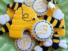 Bumble Bee Sugar Cookies by NotBettyCookies on Etsy
