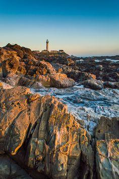 The Light House by Jingjing Li, via 500px; Half Moon Bay, California
