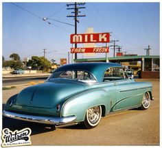 In Kustoms Illustrated issue we have started a new series of articles on the Larry Watson Photo Collection. Classic Hot Rod, Classic Cars, Heartbroken Art, Vintage Cars, Antique Cars, Motor Car, Motor Vehicle, Chevrolet Bel Air, Kustom Kulture