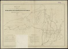 Map exhibiting the rail road, canal, lake and river routes from New York and Boston to the west, via Ogdensburgh, Buffalo and Sacket's Harbor, N.Y.