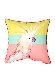 TROPICAL COCKATOO 40X40CM SCATTER CUSHION