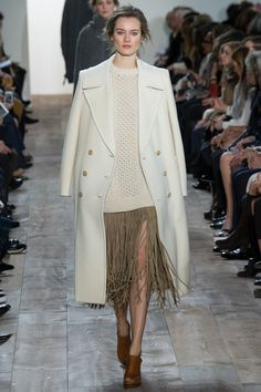 Michael Kors Collection Fall 2014 Ready-to-Wear Collection Photos - Vogue News Fashion, Fashion Week, Runway Fashion, High Fashion, Fashion Show, Fashion Design, Fashion Trends, Michael Kors Looks, Michael Kors 2014