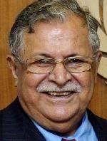 Jalal TALABANI. Presidente de Irak entre los años 2005 y 2014. Fue un destacado miembro del consejo interino iraquí que gobernaba tras la invasión de Irak en 2003. © UN Photo/Evan Schneider