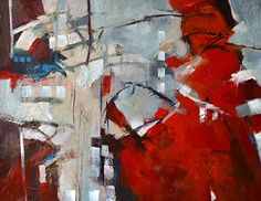 Artists Of Texas Contemporary Paintings and Art - Breaking the Rules - Original Abstract Painting by Texas Contemporary Artist Filomena de Andrade Booth