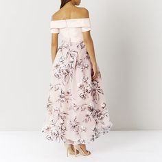YAYA BARDOT MAXI DRESS