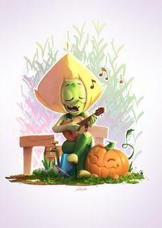 "Peri playing ""music"" (by yoshiyaki) : stevenuniverse"