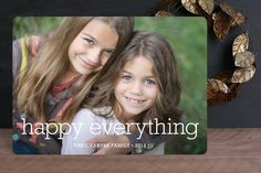 Happy Everything by annie clark at minted.com