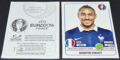 Dimitri Payet Extra Sticker France West HAM Panini Football Uefa Euro 2016 | eBay