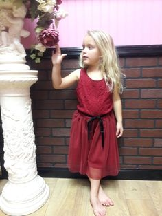 Red Christmas Dress for gils