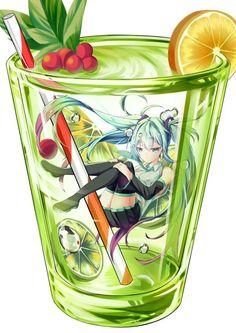 Manga Anime, Anime Chibi, Kawaii Anime, Hatsune Miku, Anime Halloween, Miku Chan, Sparkle Party, Awesome Anime, Awesome Art