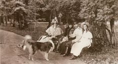 Nicholas and Alexandra with family.