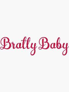 Baby Stickers, Transparent Stickers, Sticker Design, Glossier Stickers