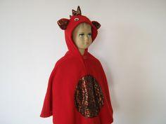 feuerdrache halloween fasching kostüm cape für von bighead5005