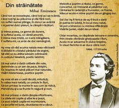 mihai-eminescu-din-strainatate Abraham Lincoln, Concert, Celebrities, Quotes, Color, Libros, Poetry, Quotations, Celebs