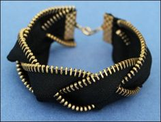 5 Zipper bracelets DIY