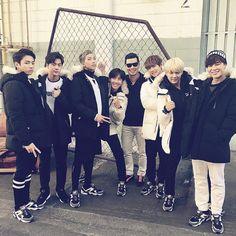 Park Manhyun with BTS